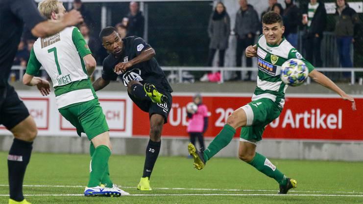 Gegen Kriens spielte Serey Dié bisher seine beste Partie im Aarauer Dress.