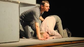 Samuel Kübler (links) und Stefan Wiemers überzeugten im Kleintheater.