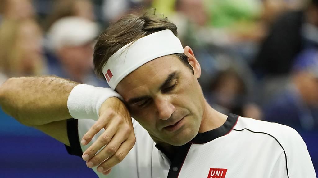 Federer tut sich weiterhin schwer