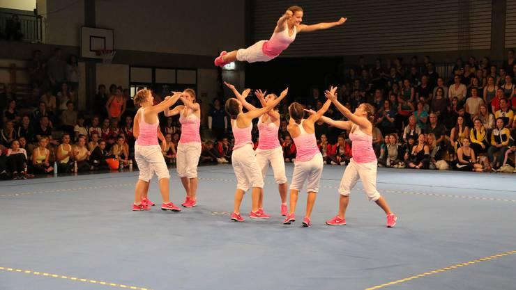 Der DTV Laupersdorf 1 holt bei der Jugend die Silbermedaille.