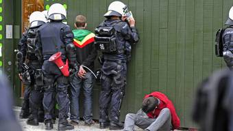 Vor allem junge Männer wurden an der 1.-Mai-Demo in Zürich festgenommen