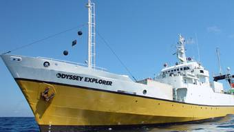 Ein Schiff der Firma Odyssey Marine Exploration (Archiv)