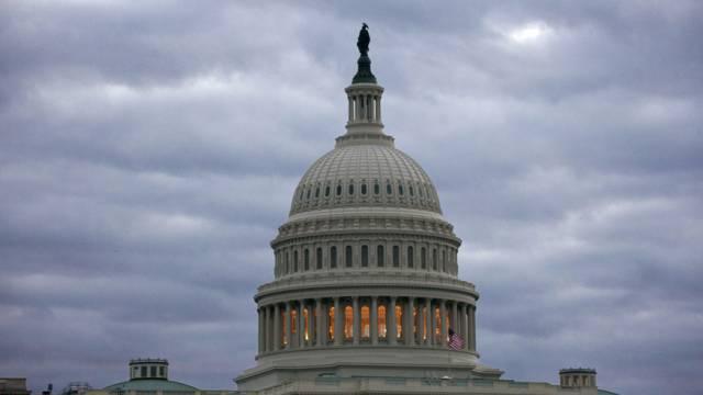 Das Kapitol, der Sitz des US-Kongresses in Washington (Archiv)