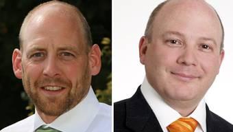 Michael Notter und Daniel Poppelreuter.