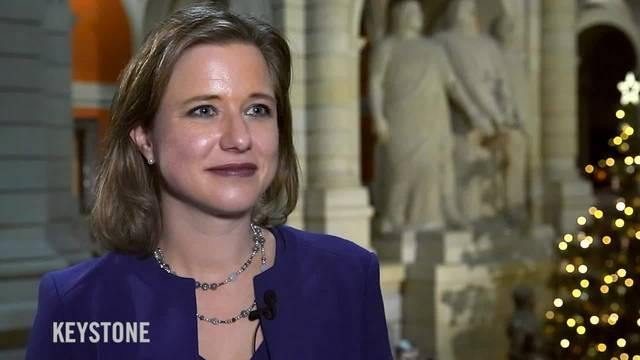 Erstes Interview mit der neuen Nationalratspräsidentin Christa Markwalder