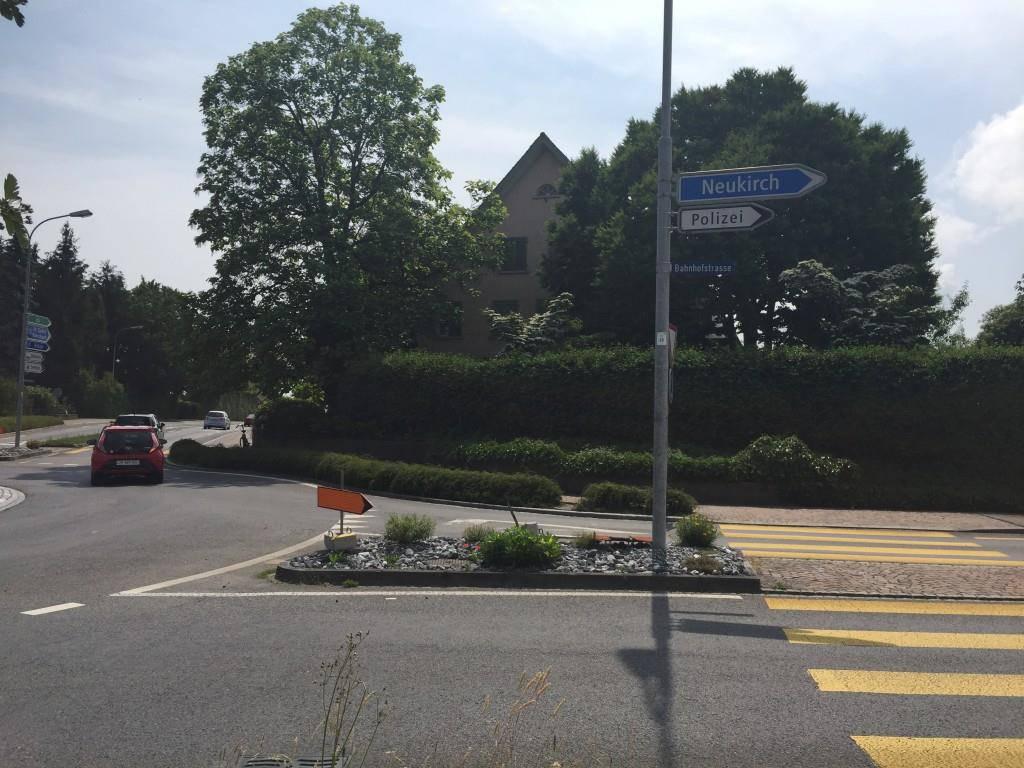 Signalisations-Dschungel Neukirch und Egnach (© FM1Today/Fabienne Engbers)