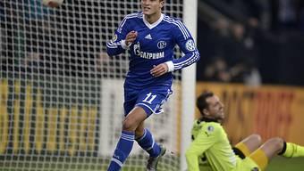 Schalkes Ibrahim Afellay trifft auch im Cup