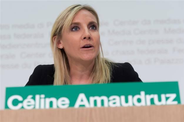 Blieb im Amt: Céline Amaudruz.