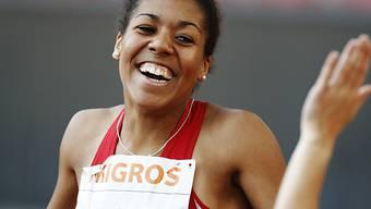 Mujinga Kambundji lief mit ihren Staffel-Kolleginnen Landesrekord.