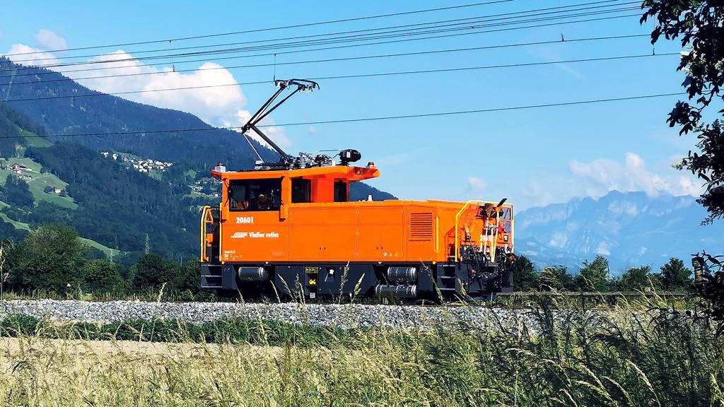 Die Rhätische Bahn hat nun ganz leise Rangierloks