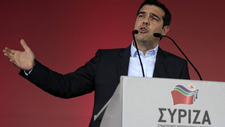 Syriza-Chef Alexis Tsipras. (Archiv)