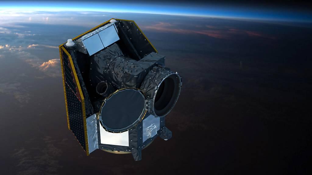 Deckel des Schweizer Weltraumteleskops Cheops erfolgreich geöffnet