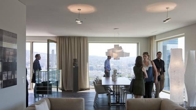 Eine 4,5-Zimmer-Wohnung ist in Ennetbaden und Windisch am teuersten (Symbolbild)