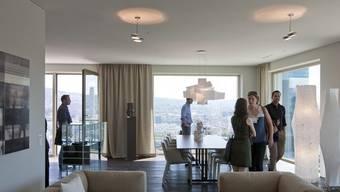Eine 4,5-Zimmer-Wohnung ist in Oberwil, Arlesheim und Riehen am teuersten