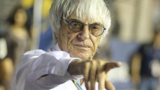 Formel-1-Chef Bernie Ecclestone (Archiv)
