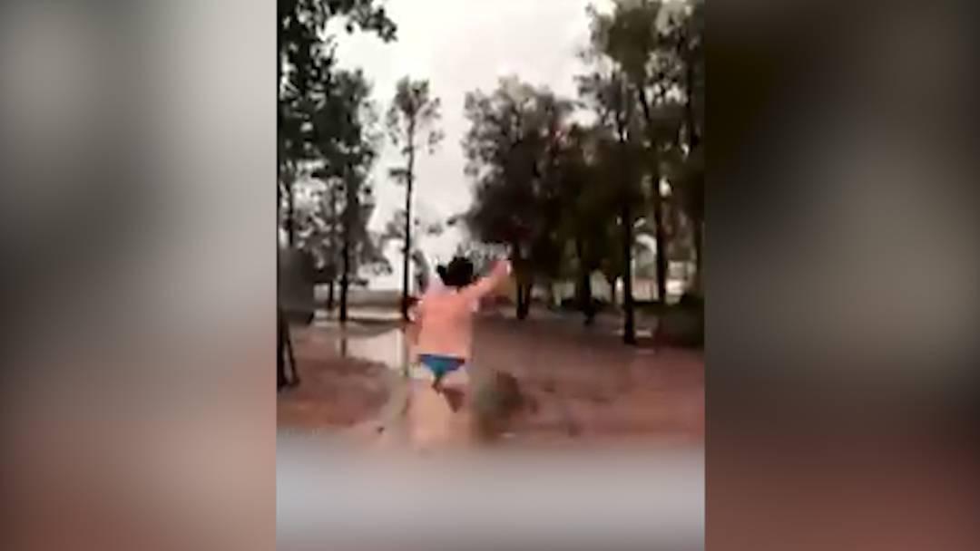 So freuen sich australische Bauern über den langersehnten Regen