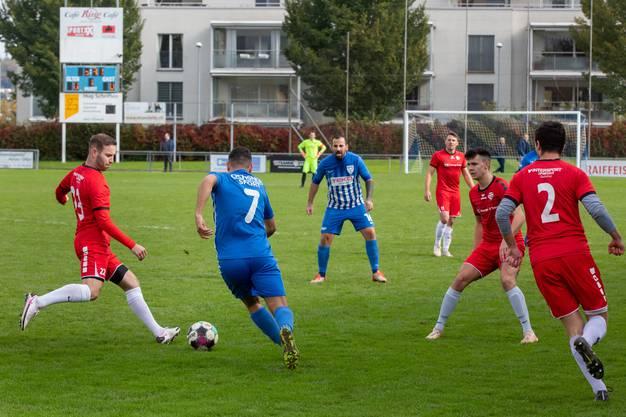 Der FC Olten setzte sich am Ende mit 3:1 durch.