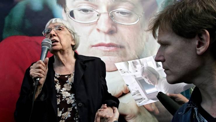 Die russische Menschenrechtlerin und Kremlkritikerin Ljudmila Alexejewa ist tot. Sie starb nach schwerer Krankheit im Alter von 91 Jahren in Moskau. (Archiv)