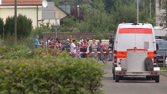 Explosionsgefahr in Brugg