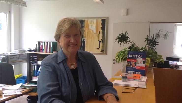 «Ich werde die Gemeindekanzlei sicher manchmal vermissen»: Erika Meier wird nach 31 Jahren pensioniert.