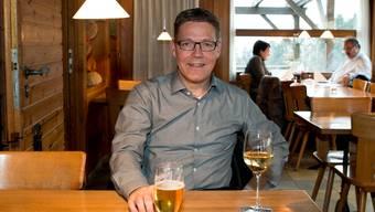 Roland Fürst im Berghof Blüemlismatt.