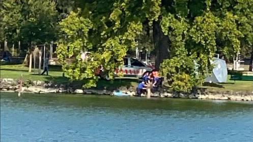 Leiche einer Seniorin trieb beim Verkehrshaus im Wasser