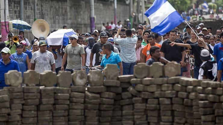Erneut gab es Massenproteste gegen die Regierung mit Todesopfern in Nicaragua.