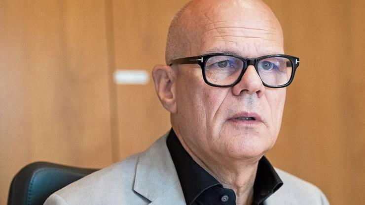 Ammann Urs Affolter: «Es ist ein Spar-Budget.»