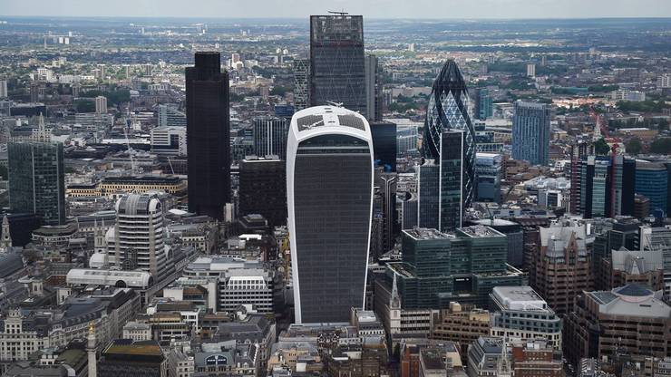 City of London: Der Finanzplatz muss um seinen Zugang zum EU-Markt fürchten.