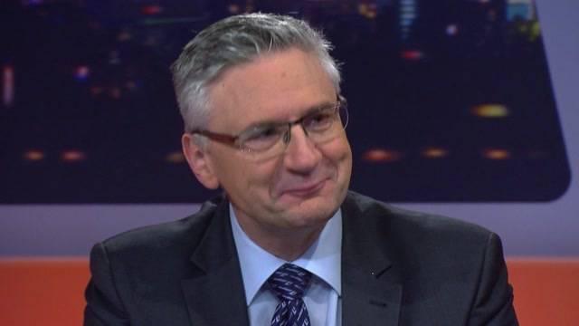 Andreas Glarner auf Schmusekurs