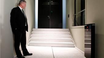 Die politischen Türen bleiben für Bruno Zuppiger wohl verschlossen. Quelle: Keystone