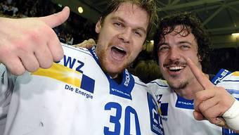 WM wohl ohne Lukas Flüeler (links) und Roman Wick