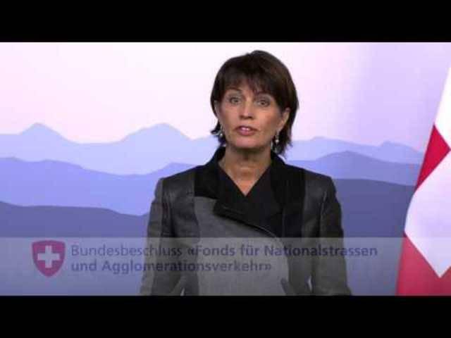 Abstimmungen: Ansprache Doris Leuthard zum NAF