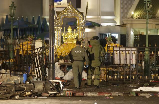 Bombenanschlag in Bangkok