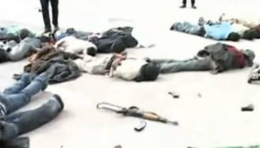Diese Männer wurden hingerichtet, weil sie sich gegen das Gaddafi-Regime gestellt haben.