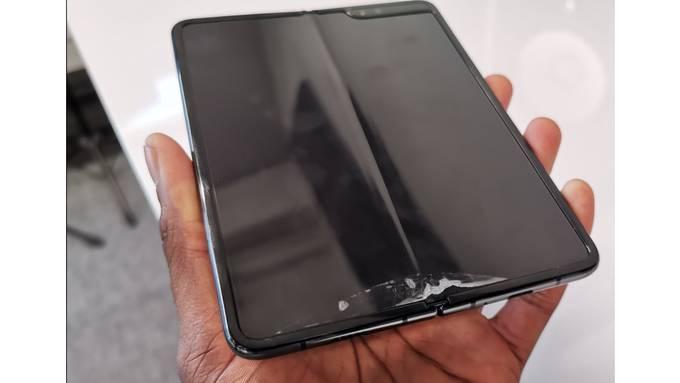 Samsung Fold Kaputt