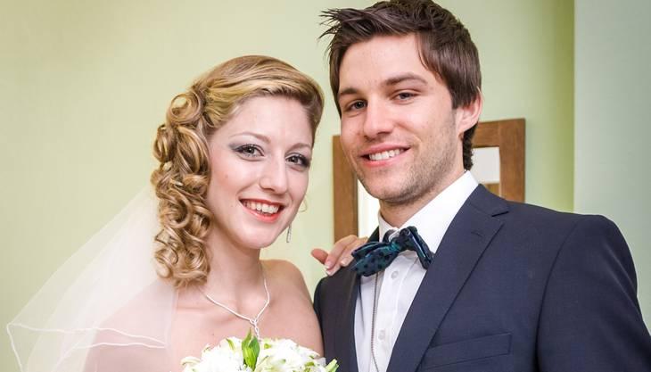 Die Hochzeit vom Paar Lüdi