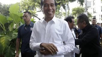 Jetzt ist es offiziell: Indonesiens Präsident Joko Widodo bleibt für fünf weitere Jahre im Amt. (Archivbild)