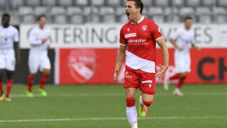Basil Stillhart wechselt vom Super-League-Absteiger Thun zum FC St. Gallen