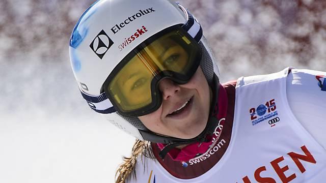 Wendy Holdener liegt 1,29 Sekunden hinter Mikaela Shiffrin zurück