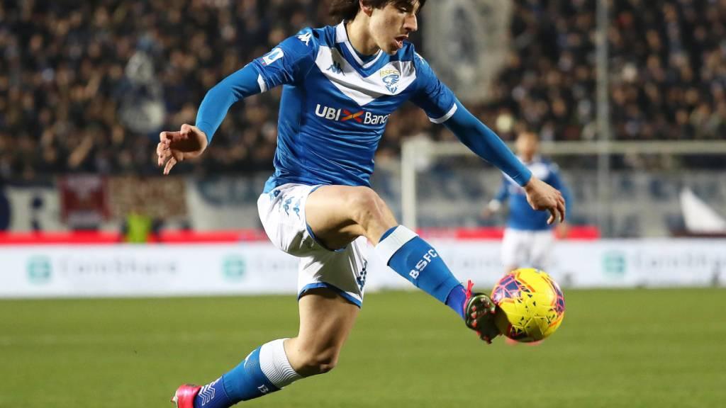 Um Routiniers wie Arturo Vidal oder N'Golo Kanté zu verpflichten, verzichtet Inter auf einen Jungstar wie Sandro Tonali - das Jahrhundert-Talent wechselte deshalb zu Milan