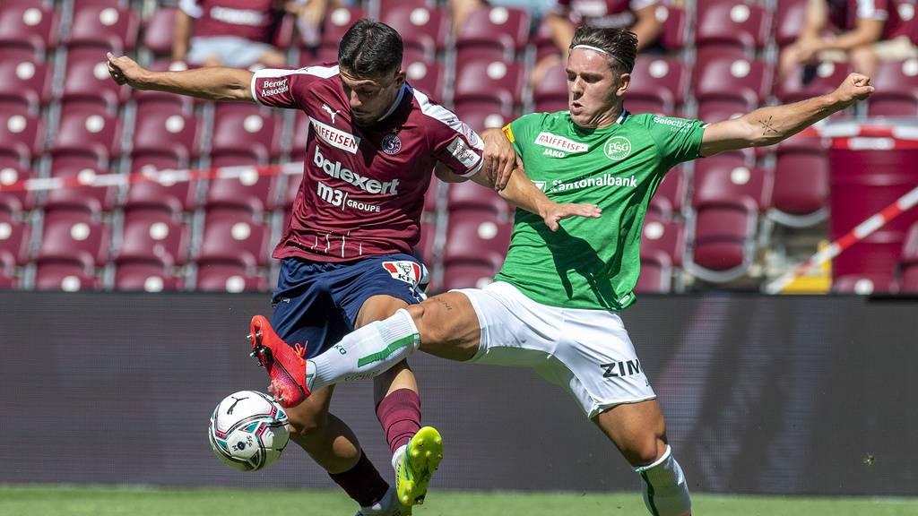 Nach 1:1-Unentschieden gegen Servette: Der FCSG ist wieder Leader