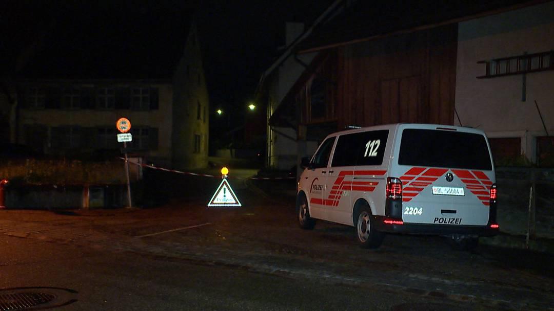 Giebenach (BL): Polizeieinsatz nach Schussabgabe