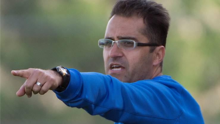 Zeigt seinen Spielern wo es lang geht: Der Solothurn-Retter Aziz Sayilir steht vor einer richtungsweisenden Saison.