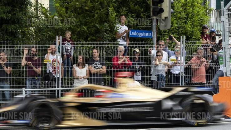 Das Rennen der Formel-e in Bern lockte zehntausende Zuschauer an.