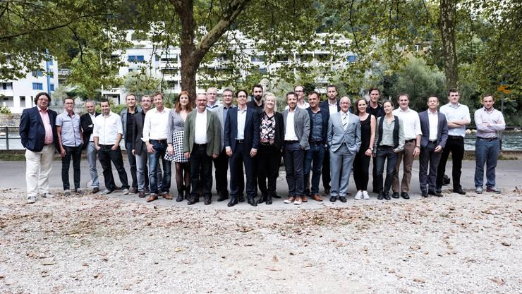 Badenfahrt 2017: Gruppenbild des Organisationskommitees.