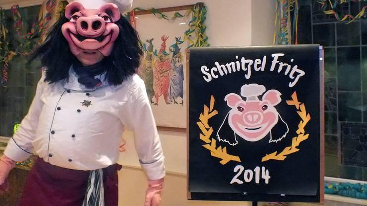 Kocht schweinisch freche Bänke: Newcomer Schnitzel Fritz. Ulrich Fluri