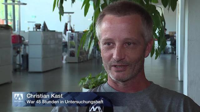 Christian Kast aus U-Haft entlassen