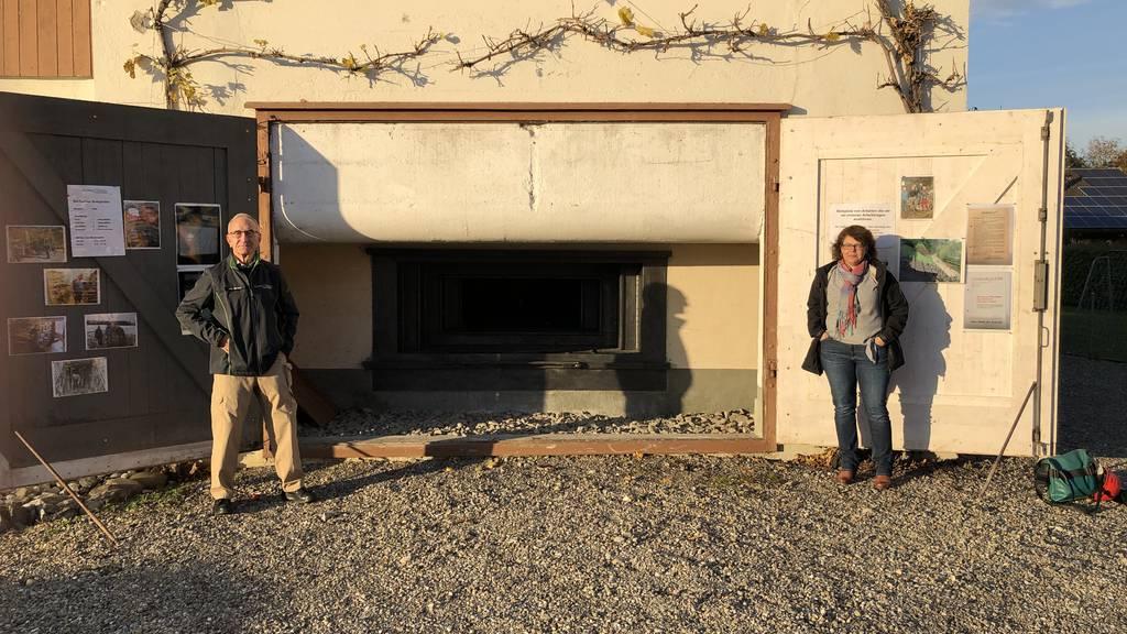 Getarnte Bunker: Statt eines Familien-Vans gibt es ein Maschinengewehr in der Garage