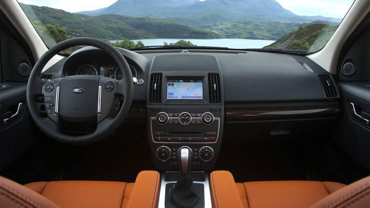 Land-Rover Freelander Innenraum